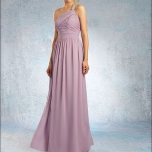 NWT | Alfred Angelo violet gown